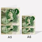 One Pound Note Notebook